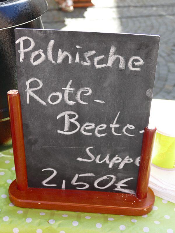 rote bete suppe polnische art