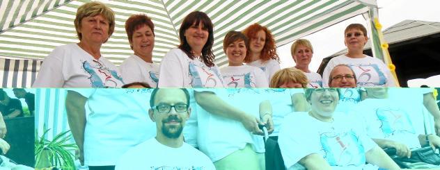 Mitarbeiter und Mitglieder des Verbandes Foto: Verband für Behinderte