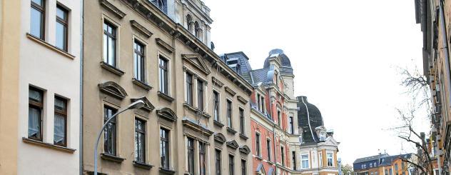 Das Haus in der Naumannstraße 10, das zum soziokulturellen Zentrum werden soll. Foto: Christian Freund